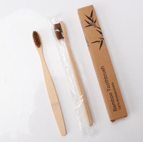 madeira arco iris escova dentes bambu ambientalmente