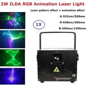 Multi Color 2W RGB Laser Light