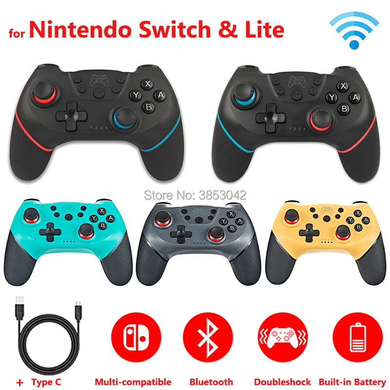 2pcs / 1 pc Wireless Bluetooth Controller for Nintend Switch Pro Gamepad for Nintendoswitch Games Accessories(China)