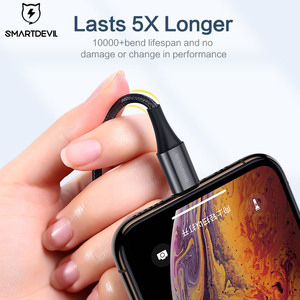 Image 5 - SmartDevil MFi USB Cable for iPhone 12 Pro Xs Max 7 8 Plus Fast Charging for Appl Lightning Cable Data Cable Phone Charger