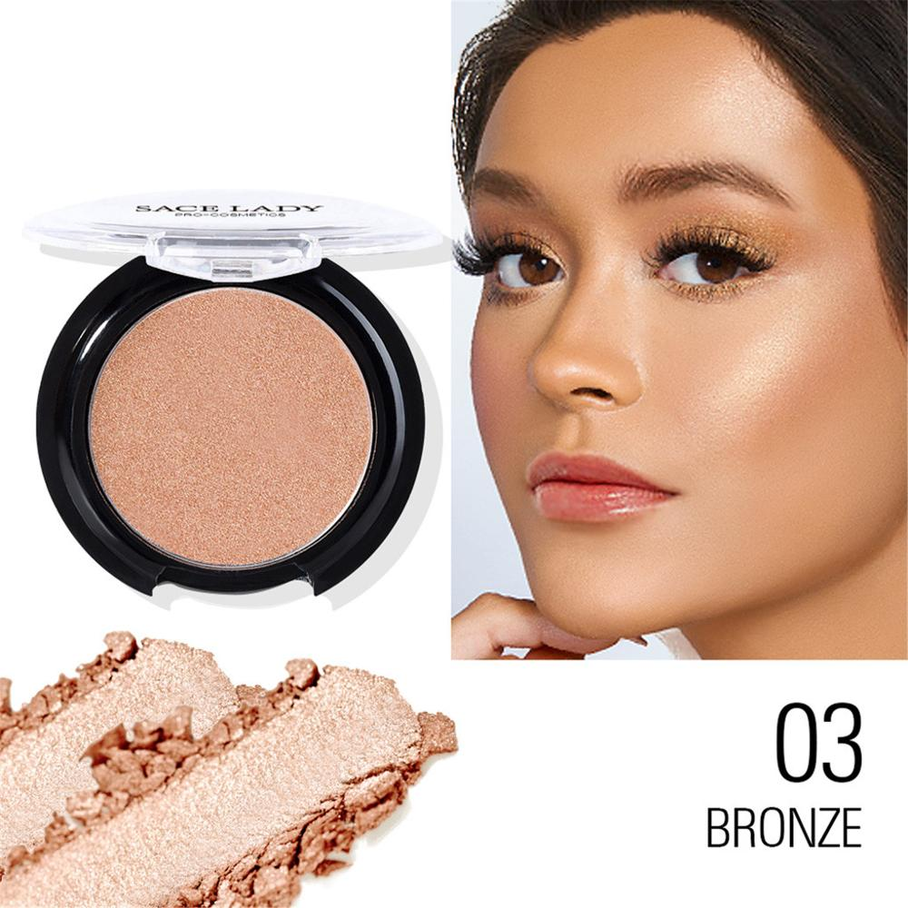 Makeup Blush Mineral Pigment Palette Easy To Wear Illuminated Blusher Powder New Arrivel  Contour Shadow Cosmetics +