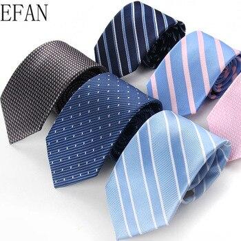 New Style Tie 7cm Ties Streak Corbata Slim Striped Necktie Cravat Clothing Accessories Simple Solid Colour