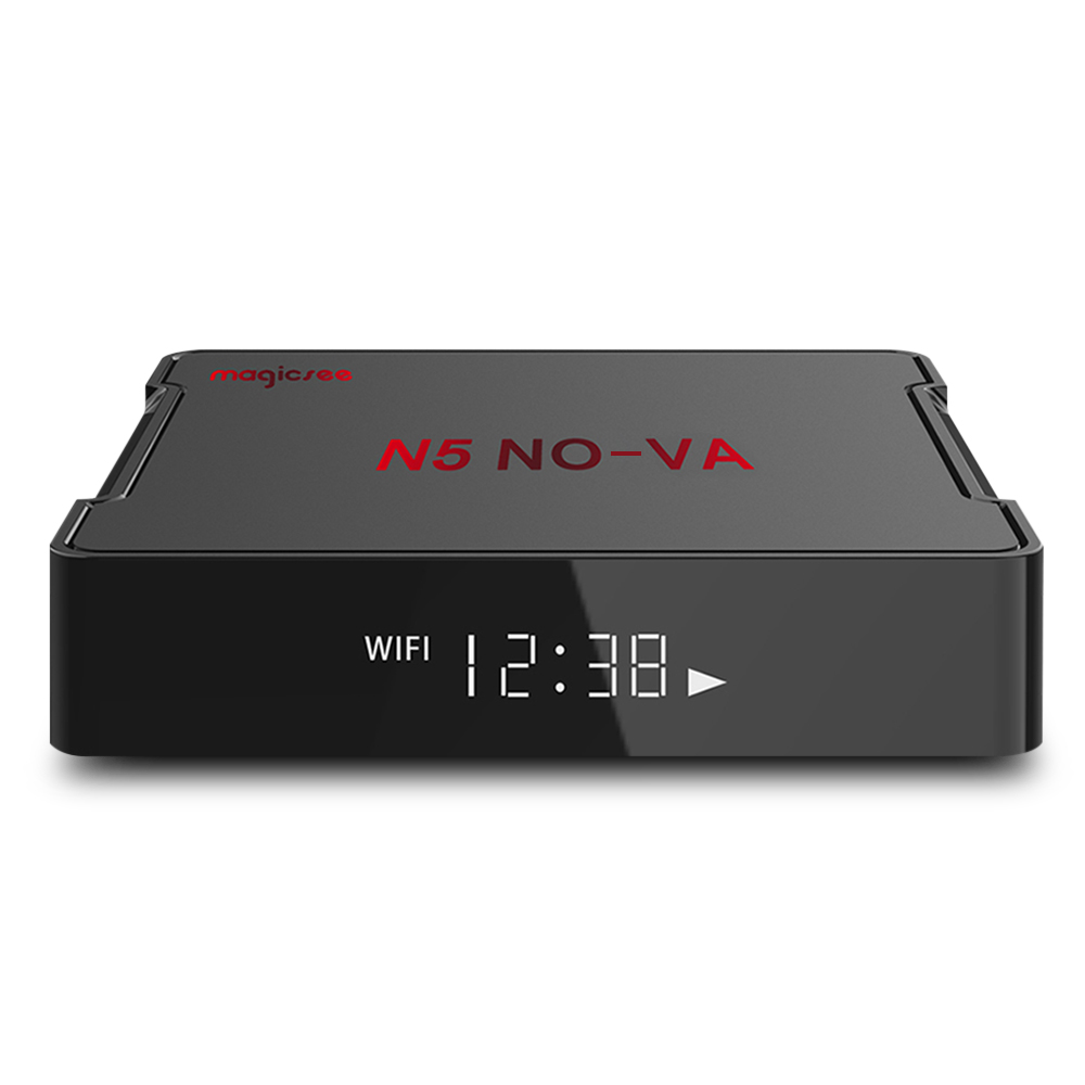 MAGICSEE N5 NOVA Android 9.0 TV Box RK3318 2GB RAM 16GB ROM 5G WIFI  bluetooth 4.0 4K Android Set Top Box Support Voice Control|Set-top Boxes