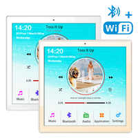 Home New Mini WiFi Bluetooth Touch Screen In Wall Audio Music Center Sound Amplifier tv tablet Smart Digital Stereo fm Amplifier