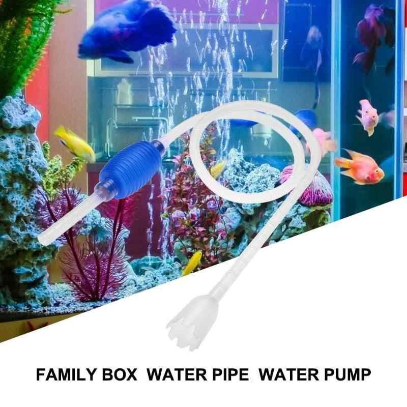 Aquarium Sifon Grind Zuigkracht Filter Aquarium Stofzuiger Water Veranderen Cleaner Sifon Eenvoudige Praktische 135 cm