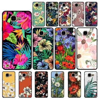 YNDFCNB Luxury Vintage Flowers Phone Case for Samsung A6 A8 Plus A7 A9 A20 A20S A30 A30S A40 A50 A70 image