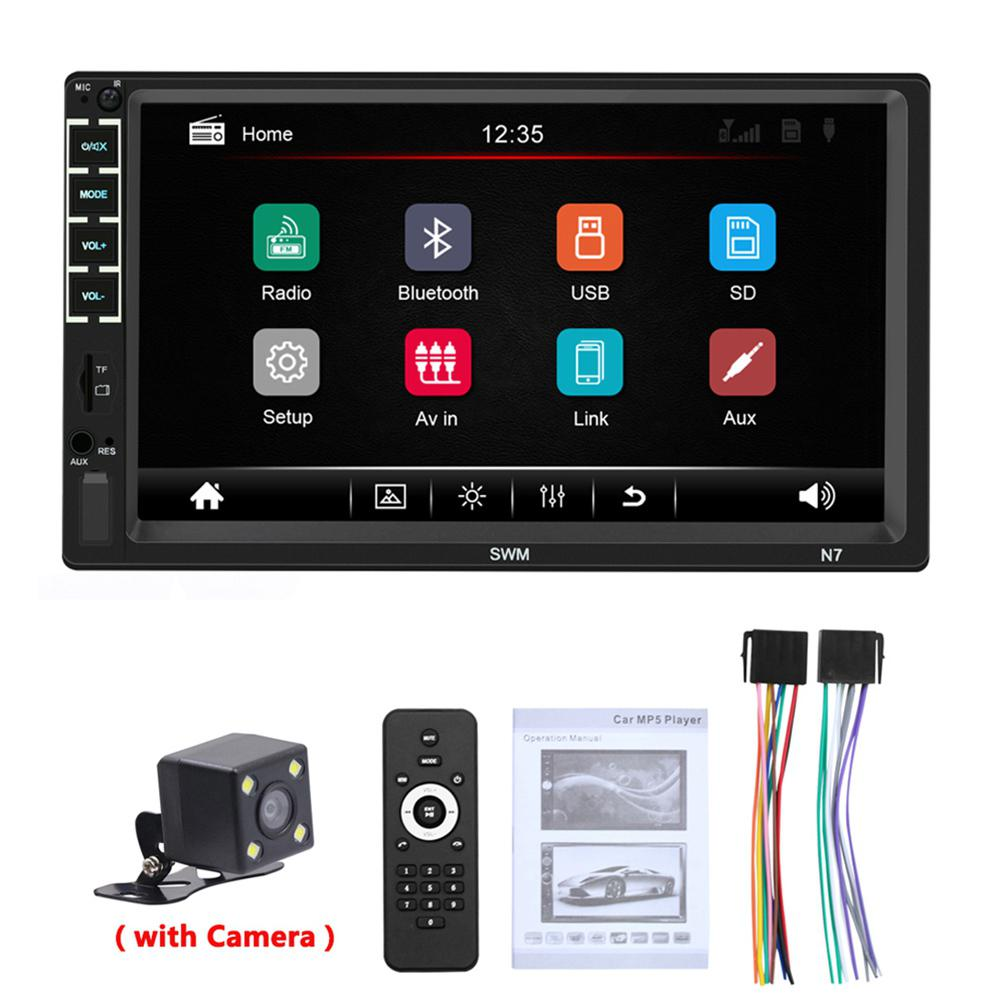 Car Radio MP5 Player 2 Din Android Autoradio For Ford Focus 2 VW Passat Car Stereo Audio Radio Mirror Link Car Accessories