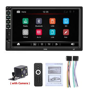 Car Radio MP5 Player 2 Din android Autoradio for ford focus 2 VW passat Car Stereo Audio Radio Mirror Link Car accessories image
