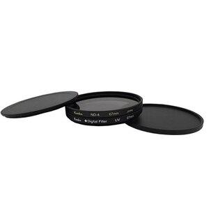 Image 2 - Pixco 52mm 55mm 58mm 62mm 금속 렌즈 필터 보호 캡