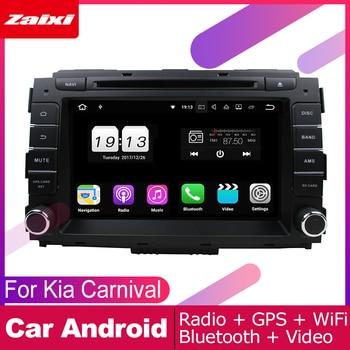 ZaiXi para Kia Carnival 2015 ~ 2017 coche Multimedia Android sistema 2 DIN Auto reproductor de DVD GPS Navi navegación Radio de Audio WiFi