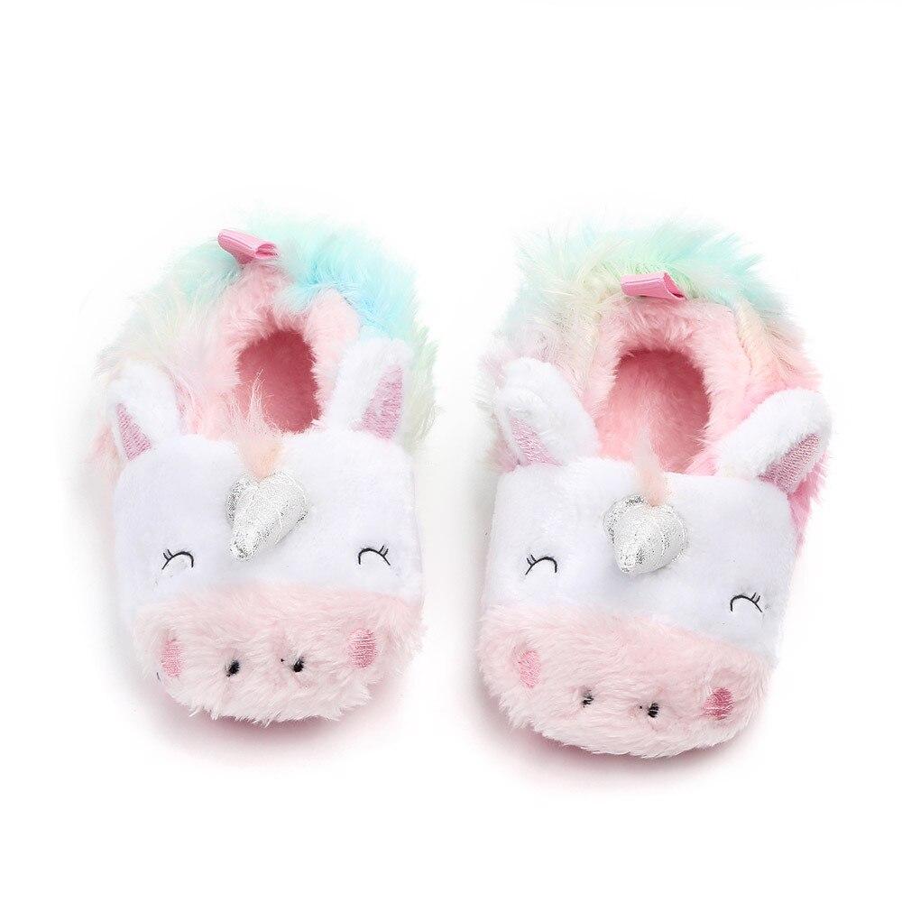 sapatos para meninas do bebe recem nascido unicornio 04