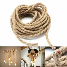 5 м/рулон 2*075 мм пеньковая веревка кабель плетеная проволока