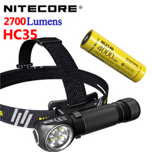 USB Rechargeable Headlight Battery 2700 Nitecore Hc35 Lasting Lumens with Large-capacity/Battery/Lasting/Attack