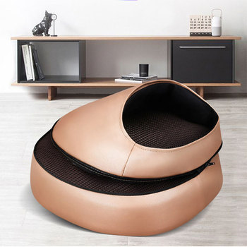 Electric Foot Massager Roller Massage Machine Infrared Heating Shiatsu Kneading Massager Relaxation Back Foot Body Health Care