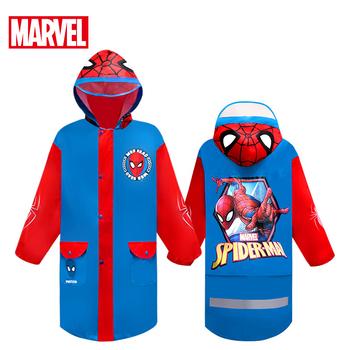 Disney Marvel dziecięcy płaszcz przeciwdeszczowy Spider-Man Zipper płaszcz przeciwdeszczowy Oxford płaszcz przeciwdeszczowy dziecięcy płaszczyk przeciwdeszczowy dziewczęcy płaszcz przeciwdeszczowy Oxford Cloth tanie i dobre opinie Odzież przeciwdeszczowa mk1026 Single-osoby przeciwdeszczowa Oxford tkaniny TOUR Dziewczyny Chlidren