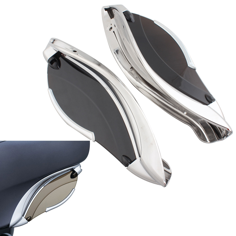 Adjustable Batwing Fairing Side Wing Air Deflector For Harley Touring Electra Glide Street Glide Tri Glide 14 19 Motorcycles|  - title=