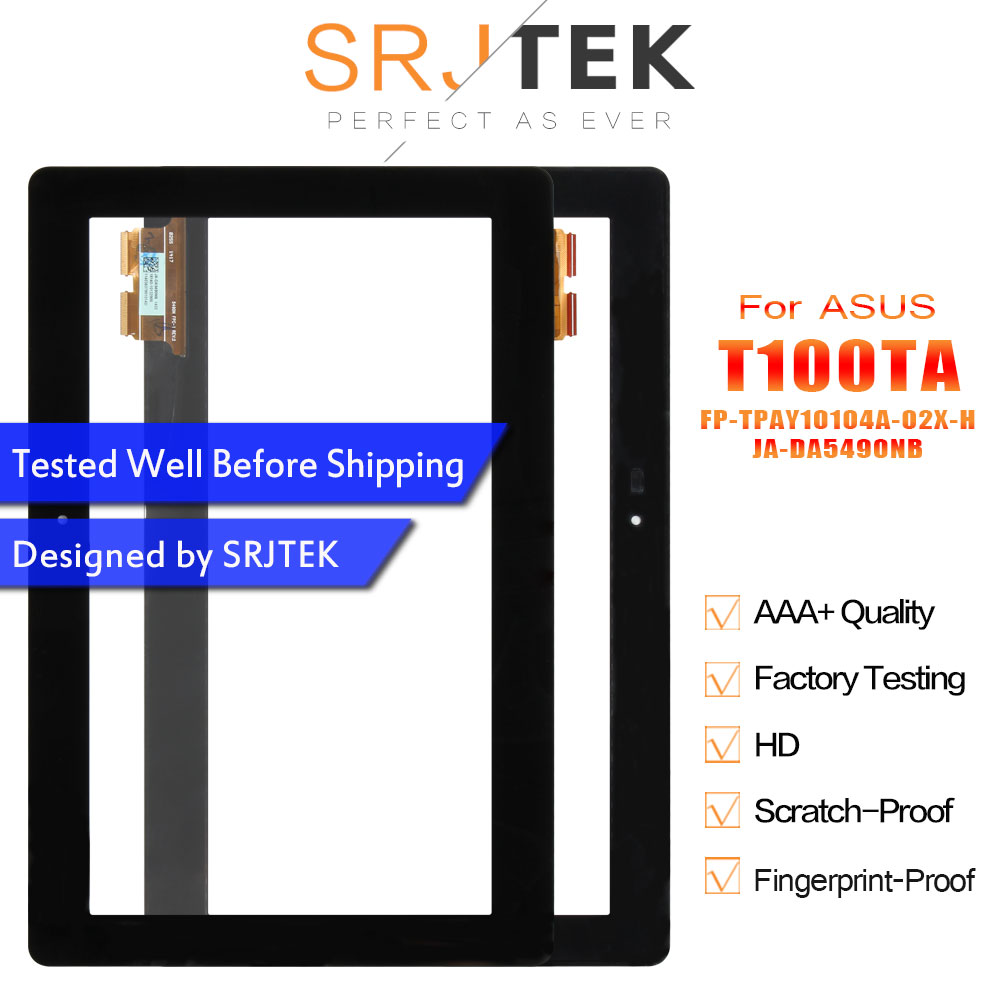 For Asus Transformer Book T100 T100TA Touch Screen Digitizer Glass Sensor FP-TPAY10104A-02X-H Tablet Pc Panel