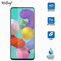 screen film For Samsung Galaxy A71 Glass For Samsung A71 51 70 50 30 20S Screen Protector Tempered Glass Phone Film For Samsung Galaxy A71 < (3)