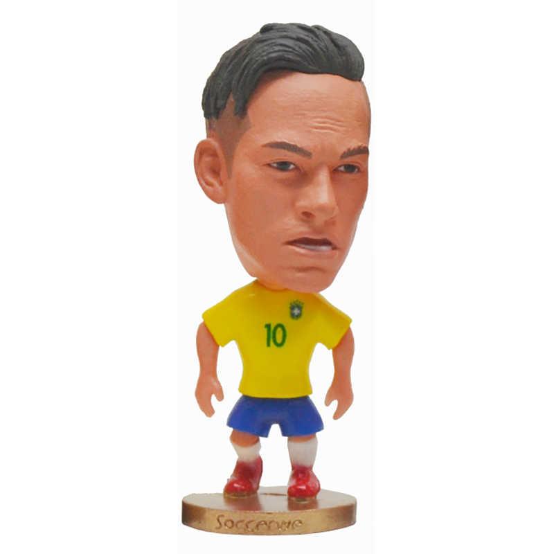 ホット! ロシアカップクラブスーパーホットサッカースター選手素敵なアクションフィギュアおもちゃサッカープレーヤー人形ファンお土産ギフト