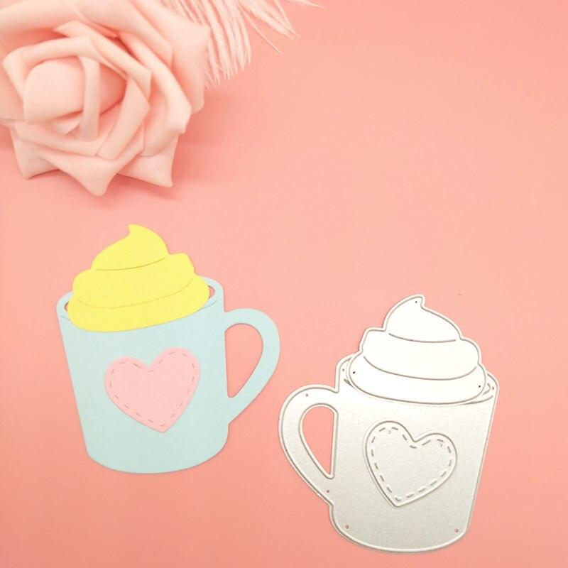 Купить любовь сердце кофе чайная чашка кружка сделай сам металлические