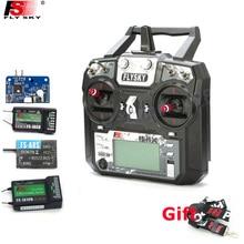 Original Flysky FS-i6X 10CH 2.4GHz AFHDS 2A RC Transmitter With FS-iA6B FS-iA10B FS-X6B FS-A8S Receiver For Rc Airplane