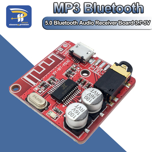 Image 1 - DIY Bluetooth אודיו מקלט לוח Bluetooth 4.0 4.1 4.2 5.0 MP3 Lossless מפענח לוח אלחוטי סטריאו מוסיקה מודול 3.7 5V