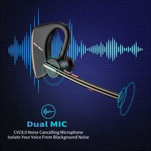 Image 2 - New Bee Bluetooth Earphones Wholesale M50 5PCS Wireless Headphones with Dual Mic Earphone Hands free Headset