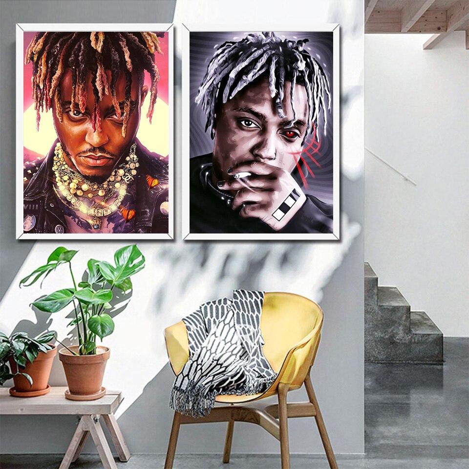 Sumo wrld cartaz rap hip hop música estrela arte da lona pintura parede quadro cuadros