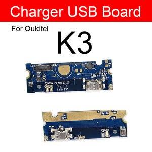 Image 1 - Sạc Usb Prot Cắm Mô đun Cho Oukitel K3 MTK6750T Octa Core 5.5 Inch Jack Sạc Dock Ban Thay Thế Sửa Chữa các Bộ Phận