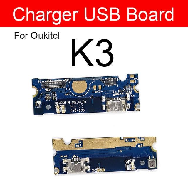 Sạc Usb Prot Cắm Mô đun Cho Oukitel K3 MTK6750T Octa Core 5.5 Inch Jack Sạc Dock Ban Thay Thế Sửa Chữa các Bộ Phận