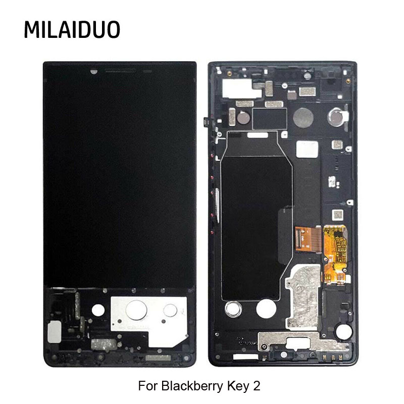 For BlackBerry Key2 LCD Display Touch Screen Digitizer Assembly Replacement Parts no/with Frame AAA+ Quality