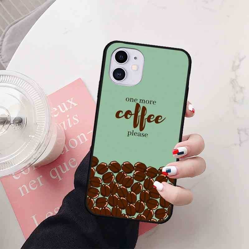 Kahve şarap bardağı kitap Patterncase coque funda iphone 11 PRO MAX X XS XR 6S 7 8 artı SE 2020 kılıfları aksesuarları orijinal kapak