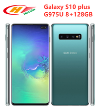 Samsung Galaxy S10+ S10 Plus G975U Snapdragon 855 8GB RAM 128GB ROM Octa Core 6.4inches NFC 4G LTE Mobile Phone(China)