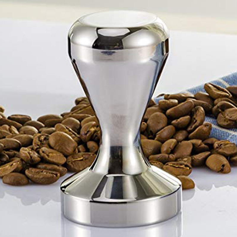 IYouNice 1PC 51MM Aluminium Alloy Coffee Tamper Base Coffee Bean Pressure Powder Hammer Coffee Pressure Bar High Quality