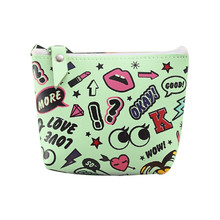 New Cute Cartoon Coin Purses Women Wallets Small Card Holder Key Bag Money Bags for Girls Ladies Purse Kids Children 814(China)