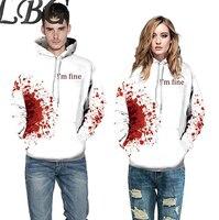 LBG new autumn and winter hoodie sweatshirt men and women off white hoodie casual hip hop hoodie 3D print hoodie streetwear