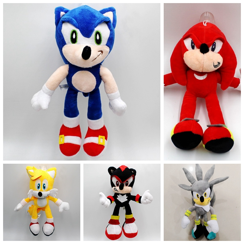 30cm sonic plush toy ,sonic soft stuffed doll Christmas gift…