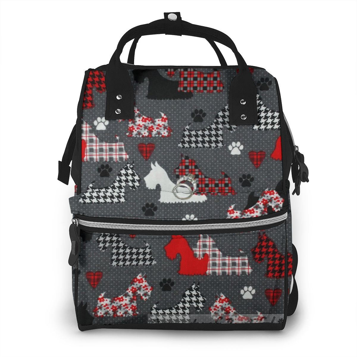 NOISYDESIGNS Westie Terrier Dog Print Baby Bag For Mommy Diaper Bag Backpack Travel Waterproof Nappy Changing Maternity Bags