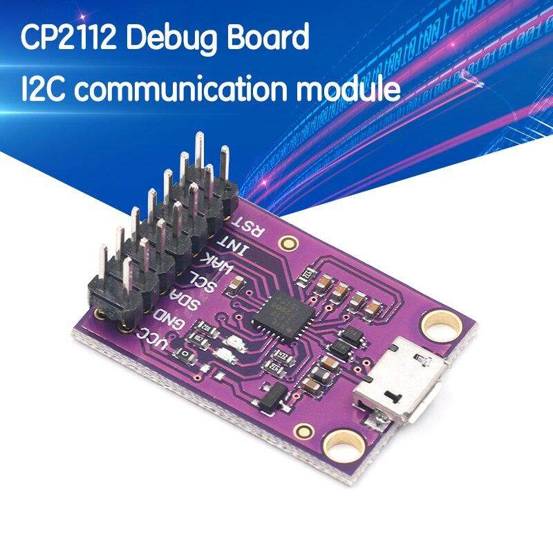 CP2112 плата отладки USB для SMBus I2C Модуль связи 2,0 MicroUSB 2112 оценочный комплект для CCS811 сенсорный модуль для arduino