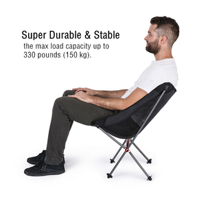 Image 4 - Naturehike Fishing Chair Ultralight Portable Folding Camping Chair Foldable Beach Chair Picnic Chair Collapsible Hiking Chair