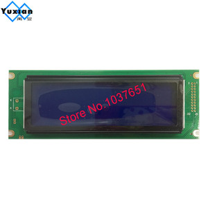 Image 3 - 24064 240*64 lcd display panel green blue screen  graphic module UCI6963 or T6963  LCM24064 2 LM24064DBY  free shipping 1pcs