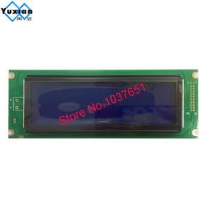 Image 3 - 24064 240*64 شاشة الكريستال السائل لوحة الأخضر الأزرق وحدة الشاشة الرسومية UCI6963 أو T6963 LCM24064 2 LM24064DBY شحن مجاني 1 قطعة