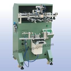 Automatyczna maszyna do sitodruku do szklanych kubków  sitodruk krzywy