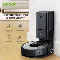 Original IRobot Roomba I7 Plus Robot Vacuum Cleaner Automatic Dirt Disposal Clean Base WiFi Connected Smart Mapping For Home
