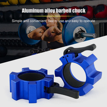 Barbell Collar Locks Dumbell Clips Weight Lifting Bar Fitness Gym Lock Clamp for Effective Working-out Accessories