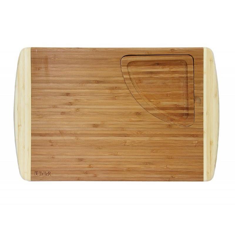 цена Board cutting TalleR, 46*30,5 cm, with tray онлайн в 2017 году