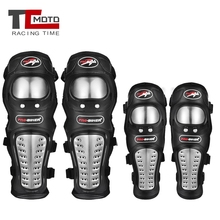 TCMOTO 4Pcs/Set Motorcycle Knee Pads Set Moto Elbow Knee Pads Motocross Racing Protective Gear Protector Guards Protection Kit 1 pair protective cycling guards waterproof gear safety adjustable equipment riding thicken warm motorcycle knee pads pu racing