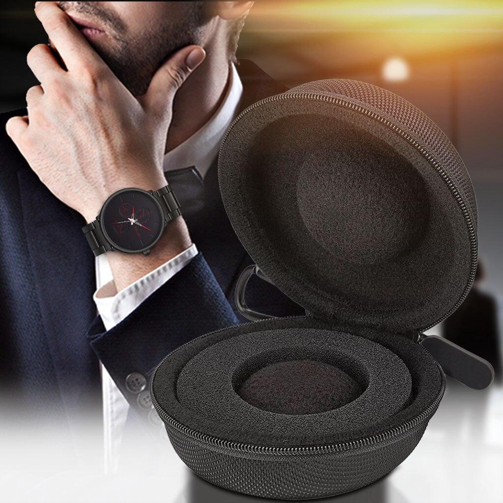 Один Часы дорожная сумка чехол для хранения на молнии монета сумка для умные часы-браслет с коробкой защитная сумка, сумочка-кошелек на молн...
