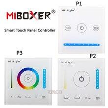 Miboxer P1 P2 P3 Smart Panel Controller Dimming Led Dimmer RGB RGBW RGB CCT Color Temperature Double White Single Color Led Pane