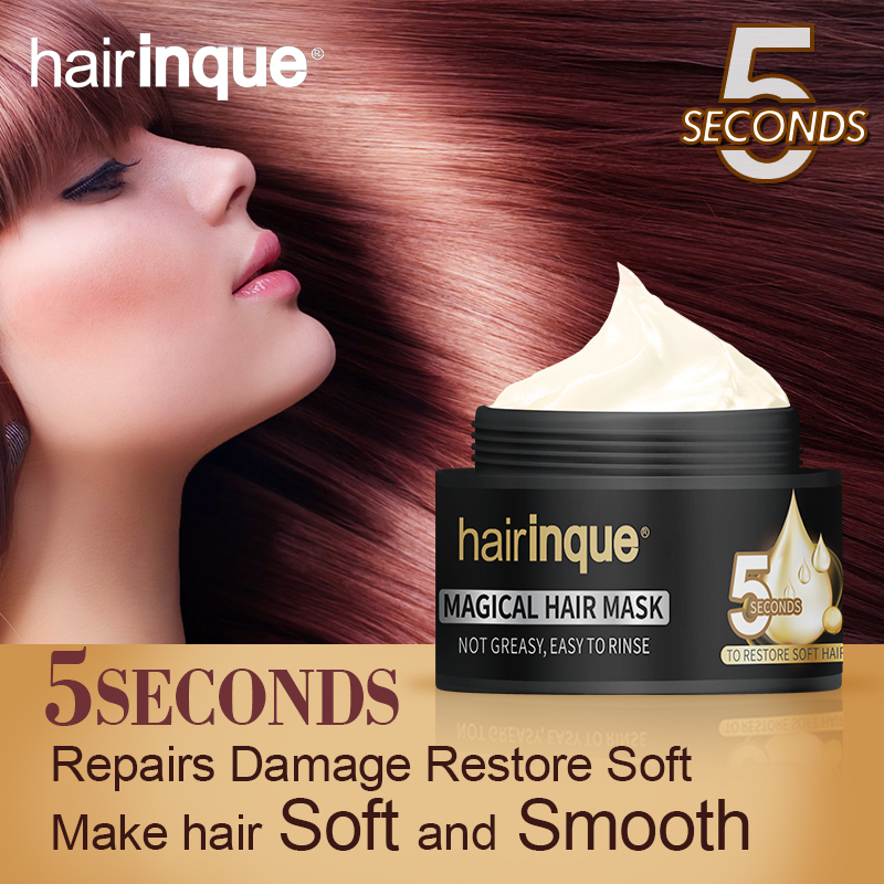 50ml 5 Seconds Repairs Damage Hair Mask Hairinque Moisturizing Nourishing Restore Soft Hair Care Magical Treatment Hair Mask